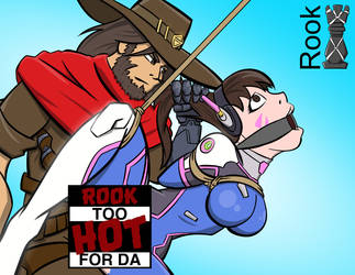 Overwatch too hot for DA by Rook-07