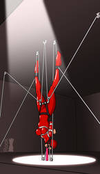 Inverted Suspension Bondage Predicament by Rook-07