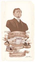 Dr. Jose Rizal-Polymath by killersid