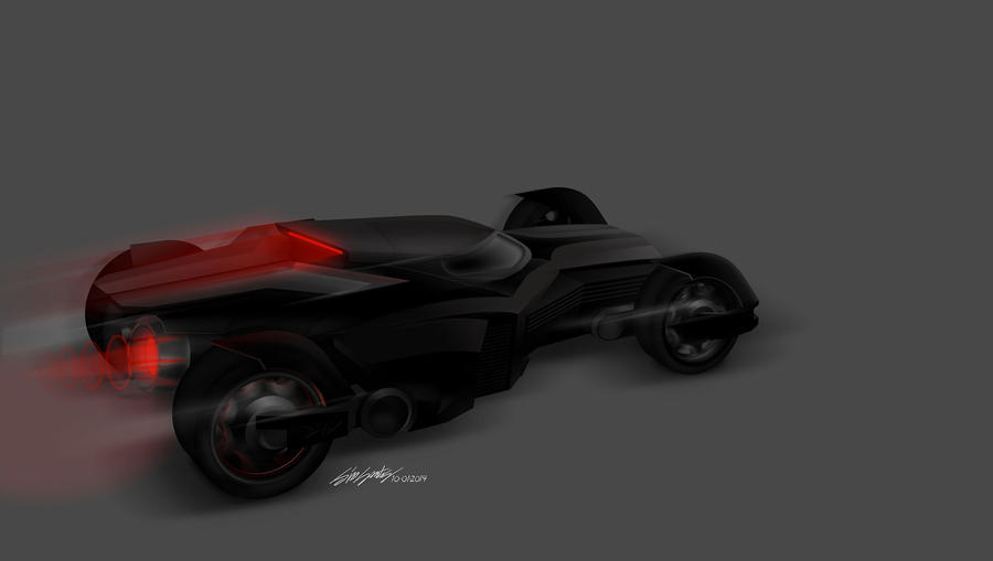 Batmobile by killersid
