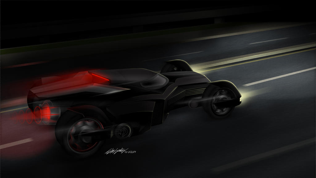 batmobile[conceptART] sidsantos by killersid