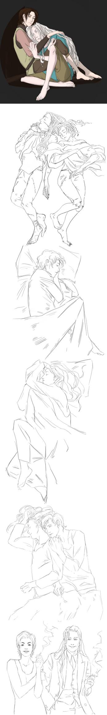 Sketch Dump by anvemi