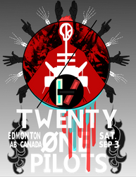 Twenty One Pilots Poster by anvemi