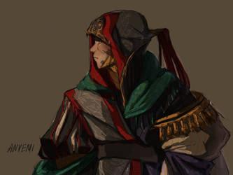 Warrior quick sketch by anvemi