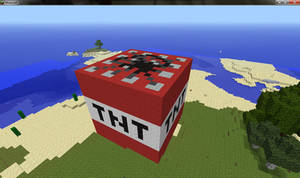 Minecraft Giant TNT by JellyKitteh