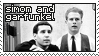 simon and garfunkel stamp by finchslanding
