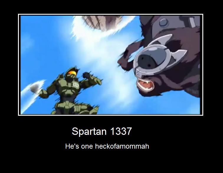 Spartan 1337 by Moovar