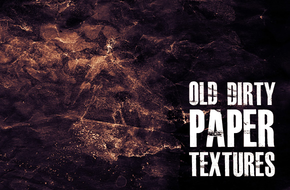 WG Old Dirty Paper Textures by wegraphics