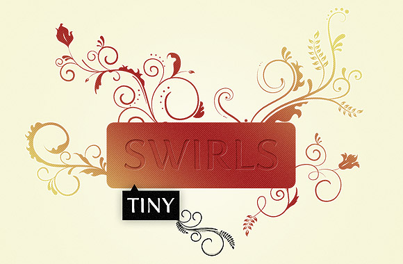 WG Tiny Swirls by wegraphics