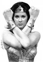 Lynda Carter As Wonder Woman by FrankGo
