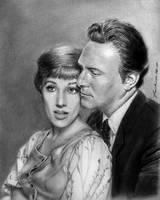 Maria and Captain Von Trapp by FrankGo