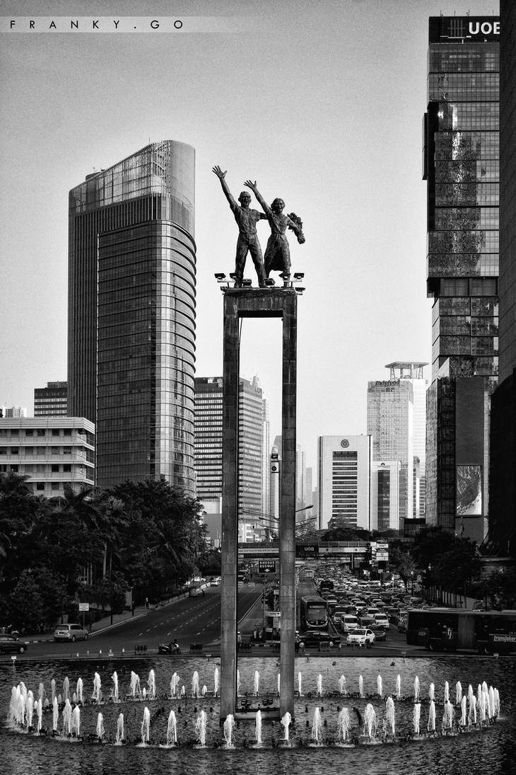 Bundaran Hotel Indonesia by FrankGo