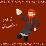 23rd of December by MademoiselleMaple