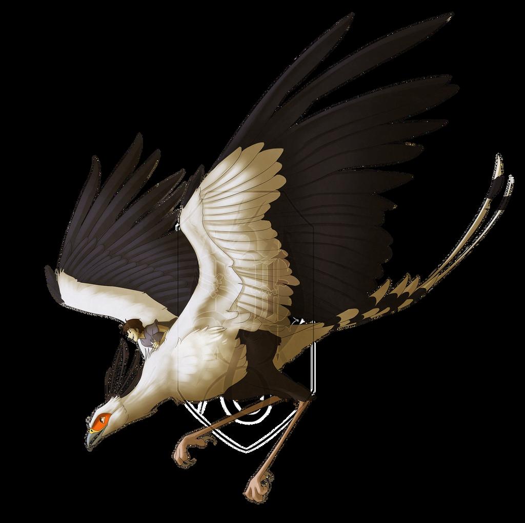 ++ Big Bird, Big Heart - TerustheBird ++ by SinisterEternity
