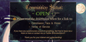 [OPEN] Commission info
