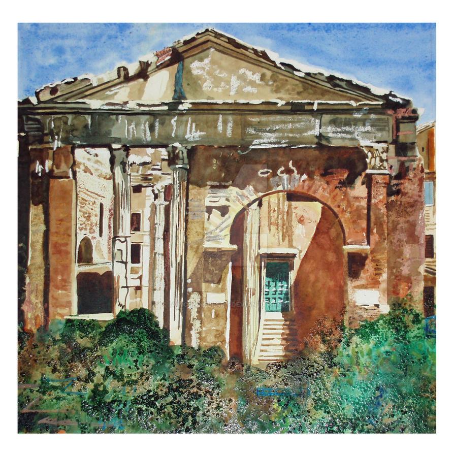 Jewish Quarter, Rome by iainconnellart