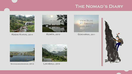 The nomad's diary