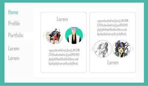 A simple portfolio - content page