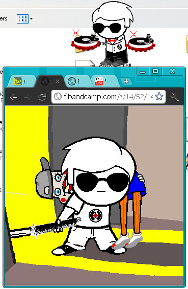 Dave shimeji by anime1rulz