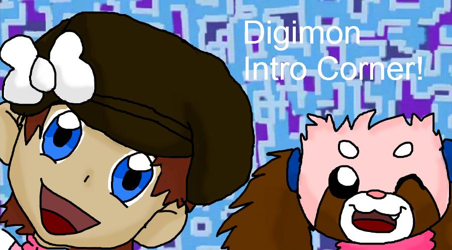 Digimon Intro Corner 1/6 by Phewmonster