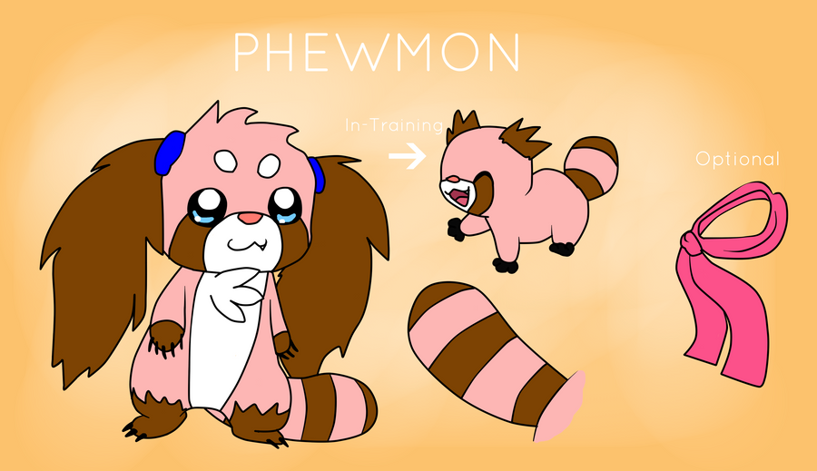 P H E W M O N - Reference sheet by Phewmonster