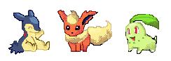 Pixel Pokemons 1 by Phewmonsuta