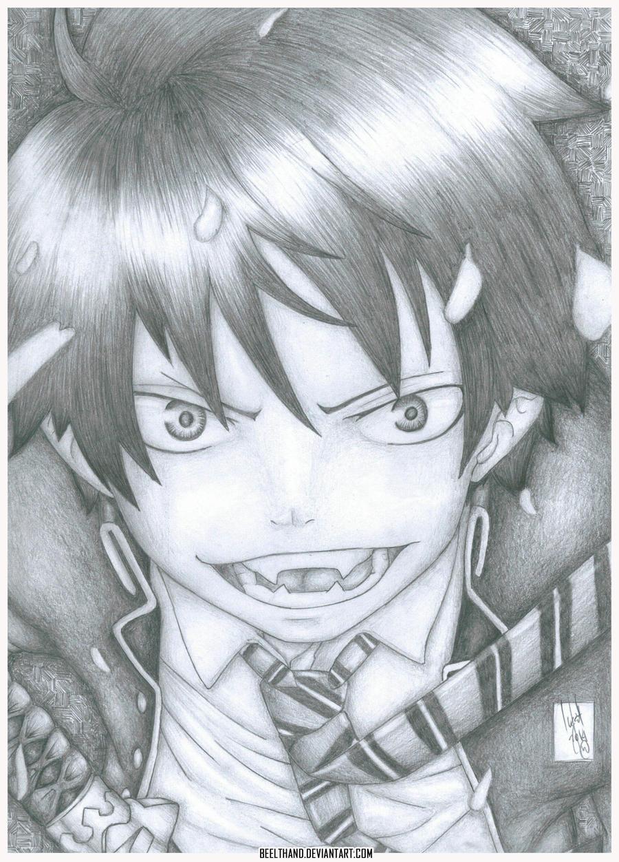 Rin Okumura by Beelthand