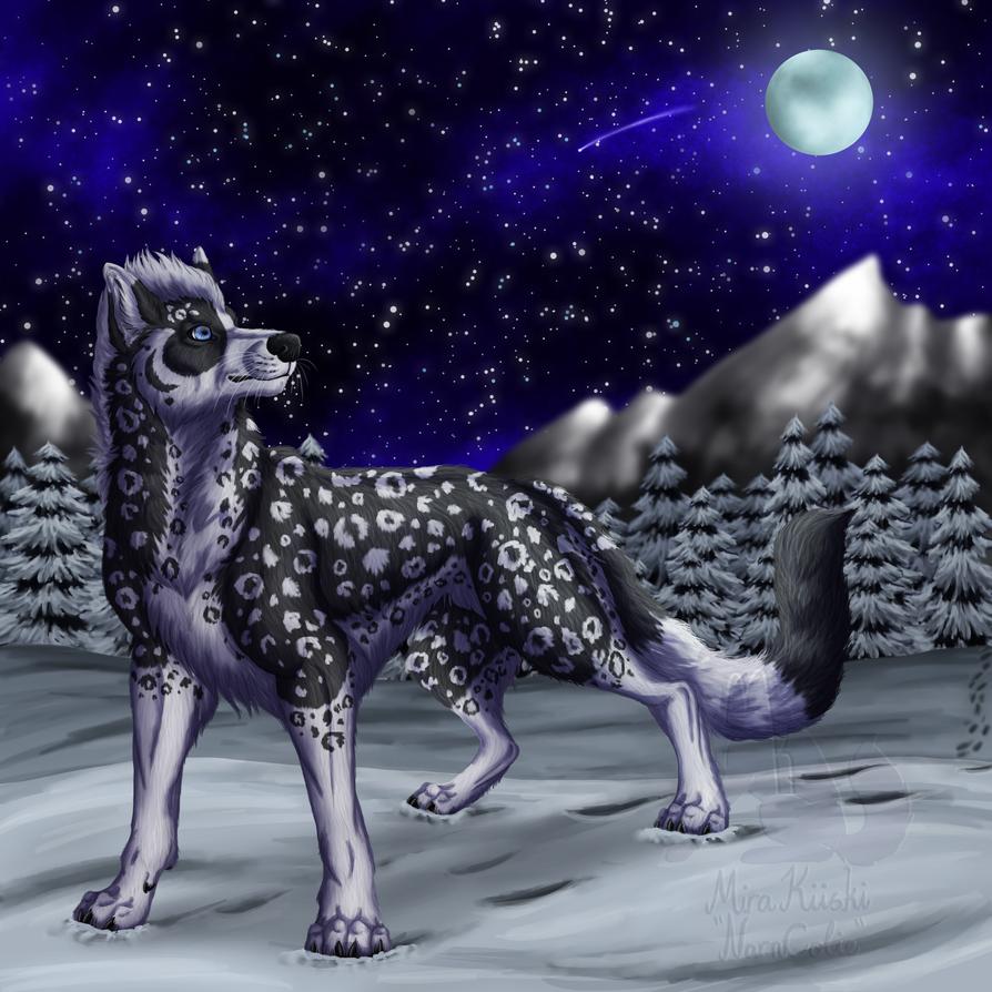 Trade- Winter night by Narncolie