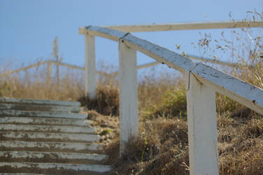 Old Beach Stairs 2