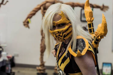 Female Scorpion (Mortal Kombat 9)