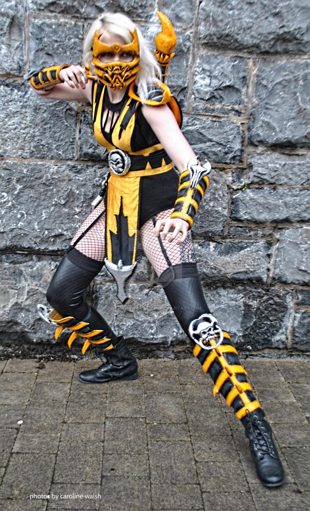 Female Scorpion Cosplay by TacticWarPanda