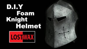 Knight Helmet-DIY For Honor Warden Made From Foam