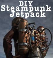 Steampunk Jetpack Made From Foam