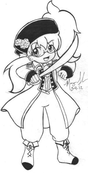 Pirate Chihaya by ChihayatheBlackAngel