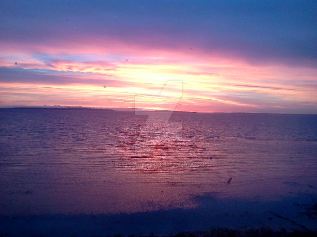 Morning over Mackinak by ChihayatheBlackAngel