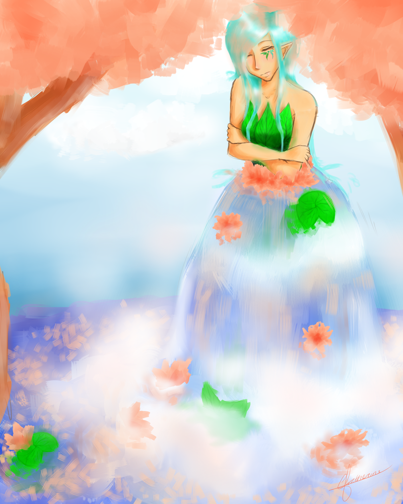 Vanora-Sapphired Goddess by IcyInMay