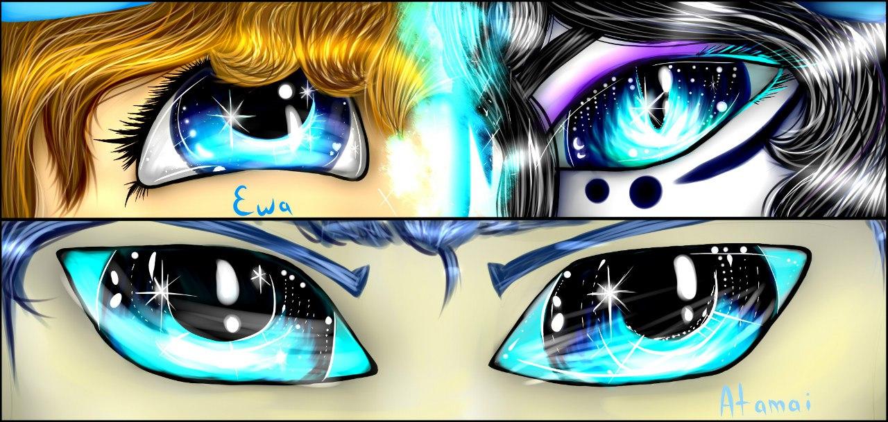 Our eyes by EwaAliatrop