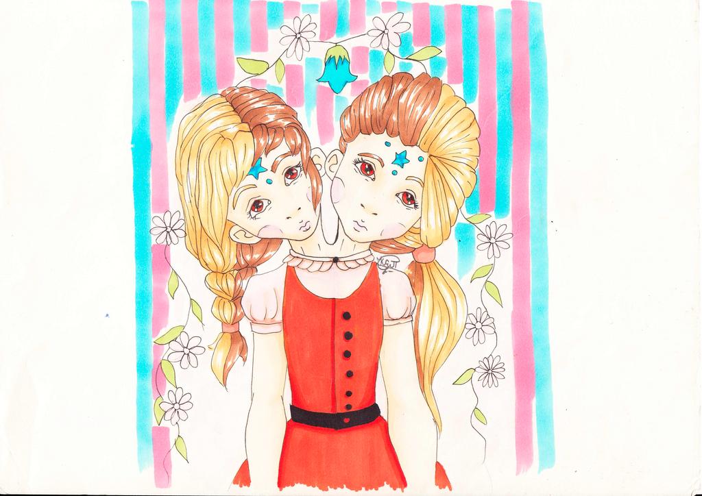 Sisters by EwaAliatrop