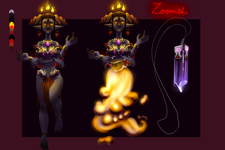 Zoomshi the Shushu by EwaAliatrop