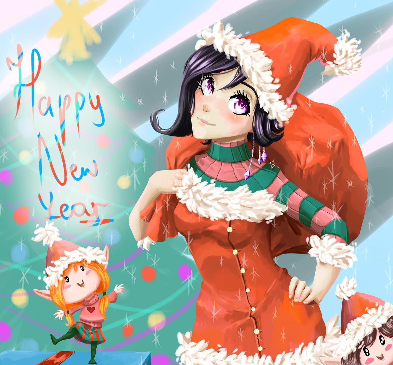 Happy New Year! by EwaAliatrop