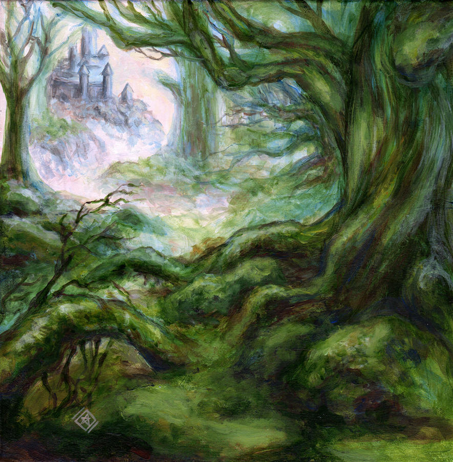 Castle Forest by starwilliams