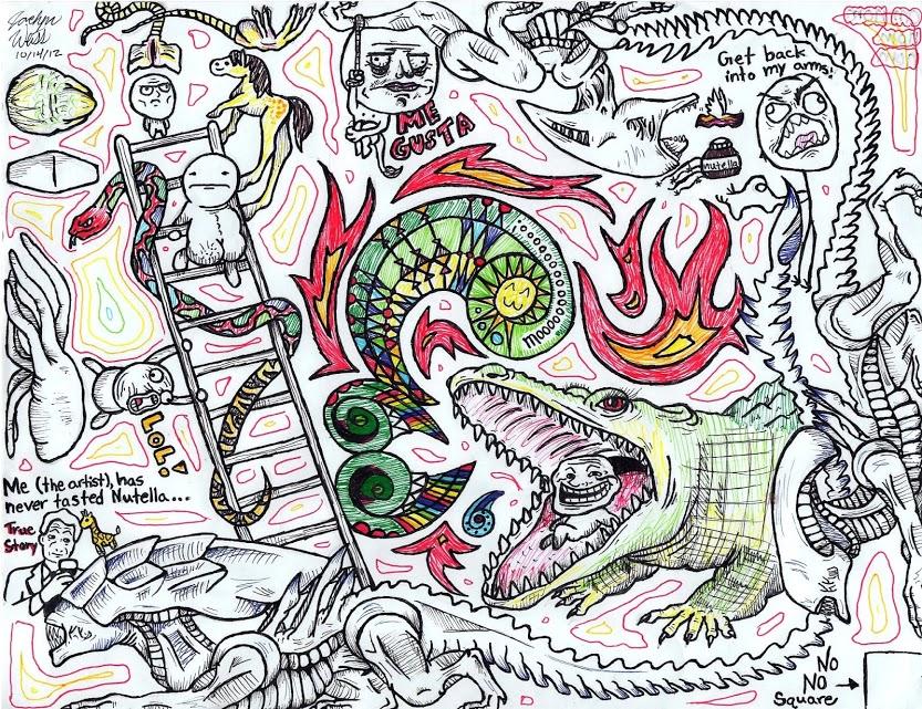 Doodling Fun by JaciJaci