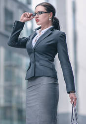 Office Lady 01 by Microdot186