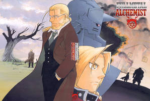 FMA - Father and sons by TimeOcean