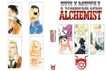 FMA - Profile of characters by TimeOcean