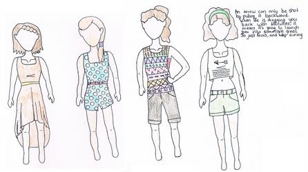 Modern Crossroads Summer clothing