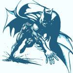 Batman pop art.