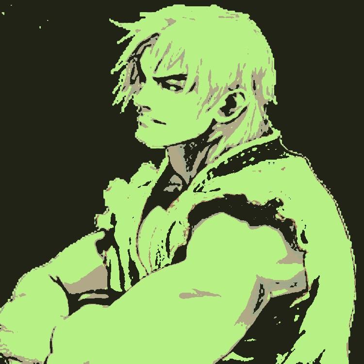 Street Fighter Ken pop art 2 by DevintheCool