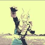 Kamen Rider V3 pop art.