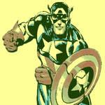 marvel comic's Captain America